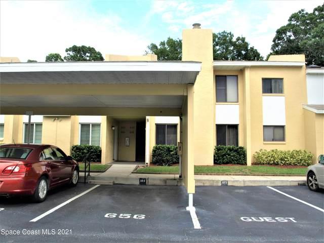 656 Cedar Side Circle NE #103, Palm Bay, FL 32905 (MLS #916452) :: Engel & Voelkers Melbourne Central