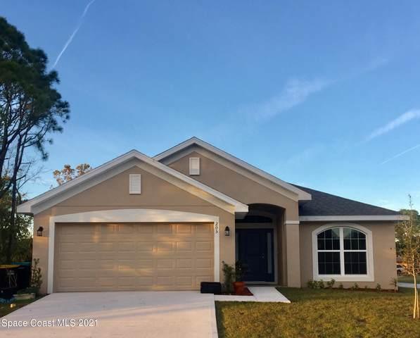 2553 Pinwherry Street NW, Palm Bay, FL 32907 (MLS #916482) :: Blue Marlin Real Estate