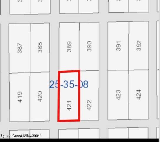 Tract 421 And 422, Rockledge, FL 32955 (MLS #916487) :: Engel & Voelkers Melbourne Central