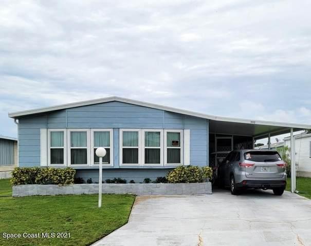 1112 Pocatella Drive, Barefoot Bay, FL 32976 (MLS #916490) :: Engel & Voelkers Melbourne Central