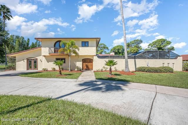 5725 Eagle Way, Merritt Island, FL 32953 (MLS #916612) :: Blue Marlin Real Estate