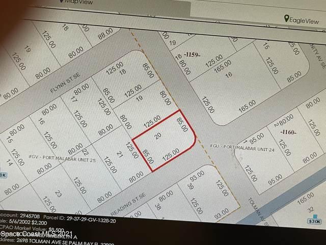 2698 Tolman Avenue SE, Palm Bay, FL 32909 (MLS #916614) :: Dalton Wade Real Estate Group
