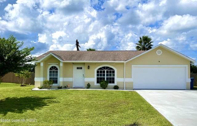 1116 Glancy Avenue NW, Palm Bay, FL 32907 (MLS #916737) :: Blue Marlin Real Estate