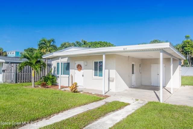665 S Orlando Avenue, Cocoa Beach, FL 32931 (MLS #916747) :: Blue Marlin Real Estate