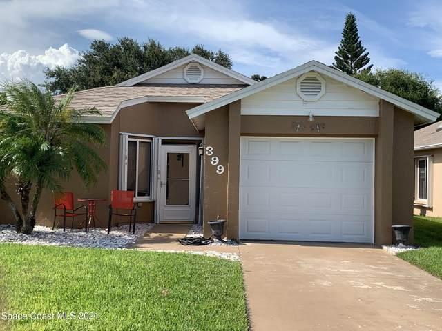 399 Cypress Point Drive, Melbourne, FL 32940 (MLS #916799) :: Blue Marlin Real Estate
