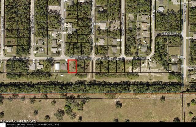 514 Warwick Street SE, Palm Bay, FL 32909 (MLS #916894) :: Blue Marlin Real Estate