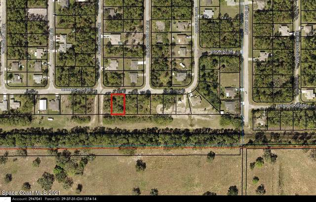 546 Warwick Street SE, Palm Bay, FL 32909 (MLS #916898) :: Blue Marlin Real Estate