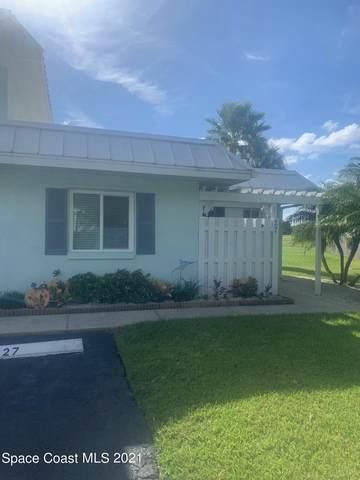 2 Country Club Road #27, Cocoa Beach, FL 32931 (MLS #917322) :: Keller Williams Realty Brevard