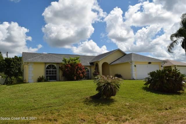 816 Seven Gables Circle SE, Palm Bay, FL 32909 (MLS #917343) :: Keller Williams Realty Brevard