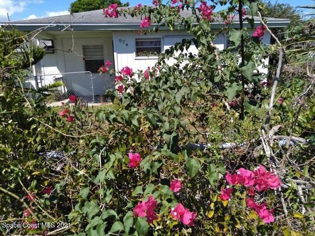 874 Saint Clair Street, Melbourne, FL 32935 (MLS #917399) :: Premium Properties Real Estate Services