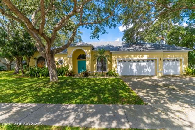 856 Brookstone Drive, Merritt Island, FL 32952 (MLS #917642) :: Premium Properties Real Estate Services
