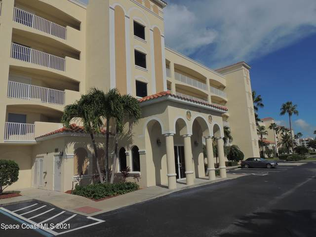 732 Bayside Drive #506, Cape Canaveral, FL 32920 (MLS #917690) :: Premium Properties Real Estate Services