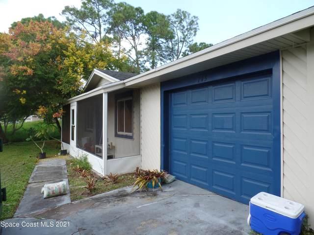 713 Brickell Street SE, Palm Bay, FL 32909 (MLS #917910) :: Keller Williams Realty Brevard