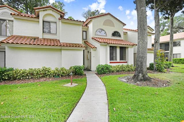 1007 Country Club Drive #313, Titusville, FL 32780 (MLS #918066) :: Engel & Voelkers Melbourne Central