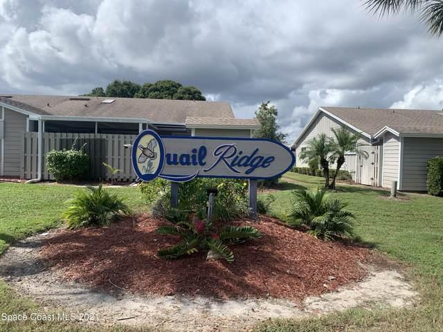 1933 Quail Ridge Court #1101, Cocoa, FL 32926 (MLS #918179) :: Premium Properties Real Estate Services