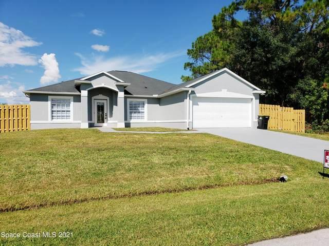 1507 Starboard Street NW, Palm Bay, FL 32907 (MLS #918261) :: Engel & Voelkers Melbourne Central