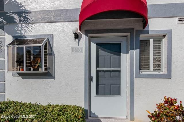 318 Seaport Boulevard #91, Cape Canaveral, FL 32920 (MLS #918264) :: Engel & Voelkers Melbourne Central