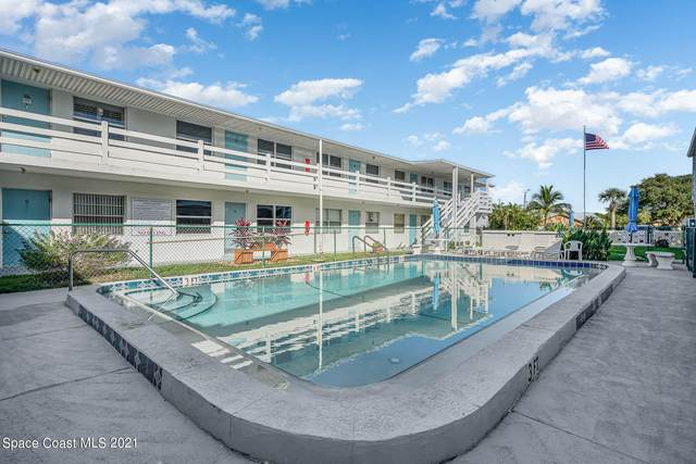 215 Circle Drive #23, Cape Canaveral, FL 32920 (MLS #918386) :: Engel & Voelkers Melbourne Central