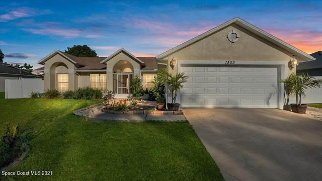 1353 Camas Avenue NW, Palm Bay, FL 32907 (MLS #918413) :: Premium Properties Real Estate Services