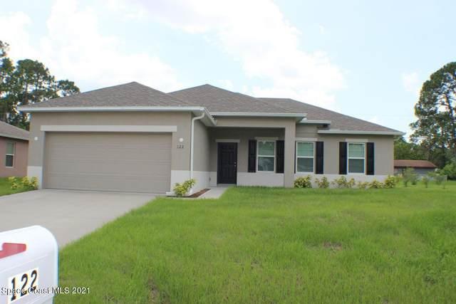 122 Carmelite Avenue NW, Palm Bay, FL 32907 (MLS #918438) :: Keller Williams Realty Brevard