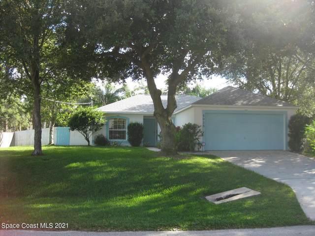6025 Chapman Street, Cocoa, FL 32927 (MLS #918480) :: Blue Marlin Real Estate