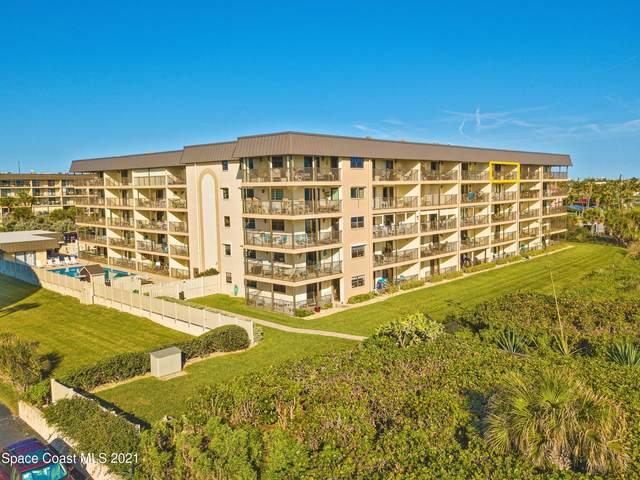 4100 Ocean Beach Boulevard #512, Cocoa Beach, FL 32931 (MLS #918485) :: Blue Marlin Real Estate