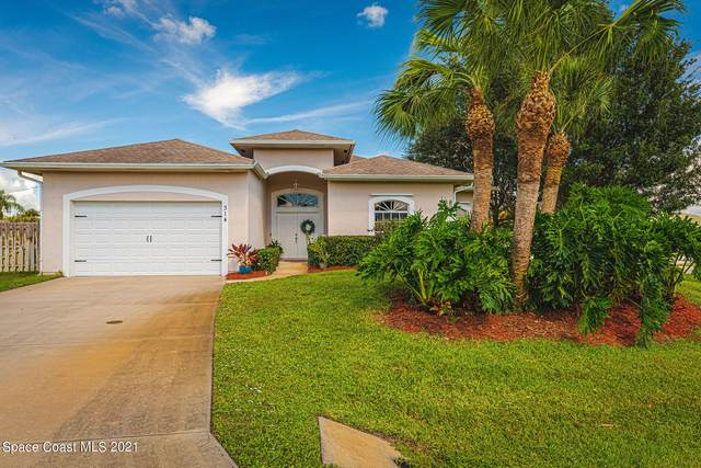 314 Seaside Terrace, Sebastian, FL 32958 (MLS #918498) :: Keller Williams Realty Brevard