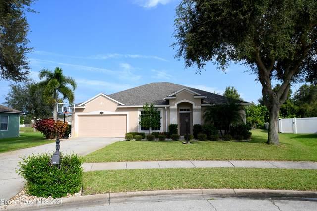 4963 Mandolin Court, Melbourne, FL 32940 (MLS #918551) :: Dalton Wade Real Estate Group