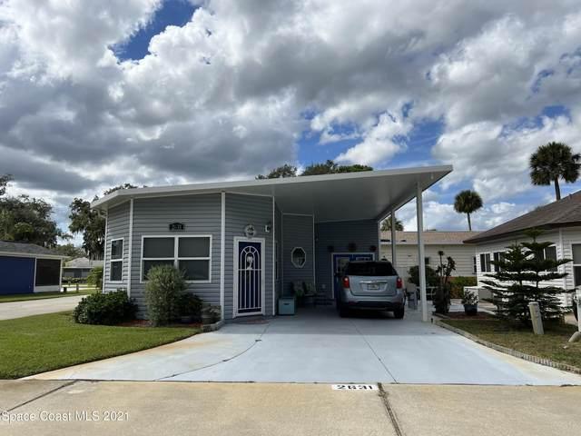 2631 Frontier Drive #231, Titusville, FL 32796 (MLS #918708) :: Keller Williams Realty Brevard