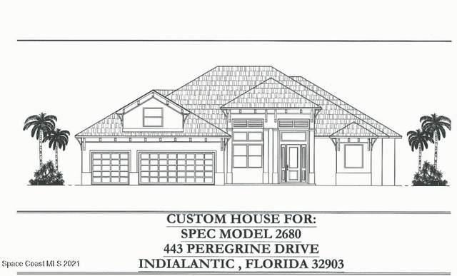443 Peregrine Drive, Indialantic, FL 32903 (MLS #918799) :: Blue Marlin Real Estate