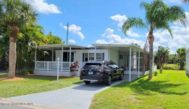 907 Laurel Circle, Barefoot Bay, FL 32976 (MLS #918873) :: Blue Marlin Real Estate