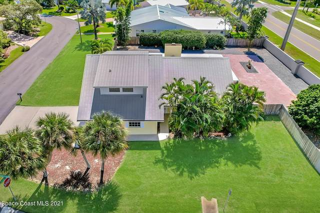 577 Spindle Palm Drive, Indialantic, FL 32903 (MLS #918879) :: Blue Marlin Real Estate