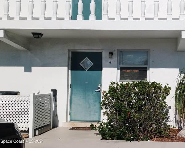 2186 Florida A1a C4, Indian Harbour Beach, FL 32937 (MLS #918892) :: Blue Marlin Real Estate