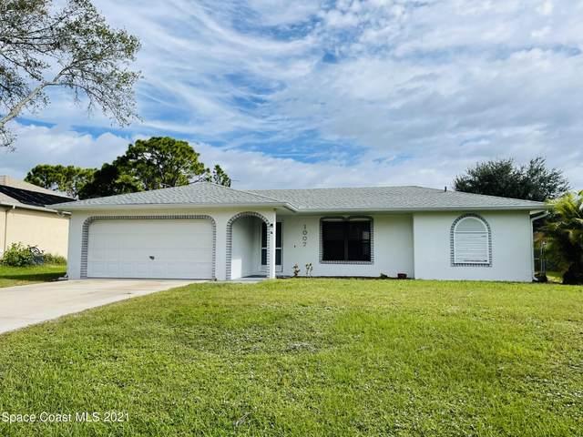 1007 Walden Boulevard SE, Palm Bay, FL 32909 (MLS #918894) :: Blue Marlin Real Estate