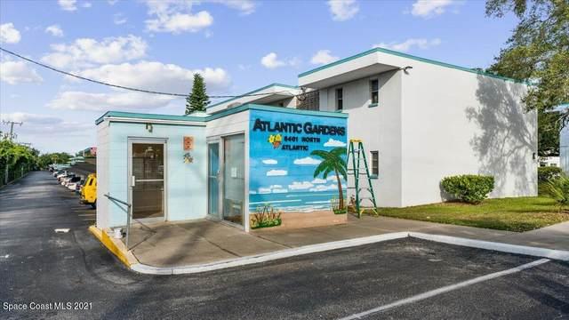 8401 N Atlantic Avenue A-12, Cape Canaveral, FL 32920 (MLS #918899) :: Blue Marlin Real Estate