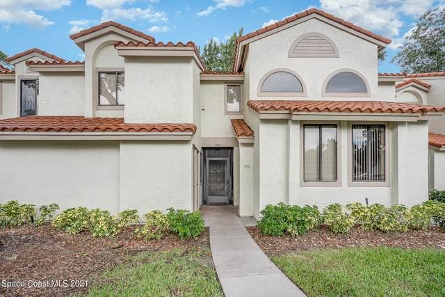 983 Country Club Drive #213, Titusville, FL 32780 (MLS #918925) :: Keller Williams Realty Brevard