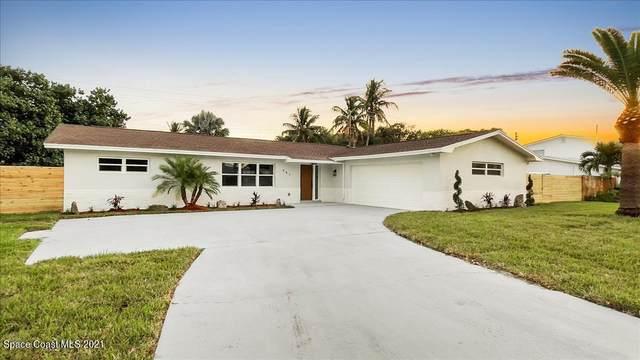 461 E Riviera Boulevard, Indialantic, FL 32903 (MLS #918930) :: Blue Marlin Real Estate