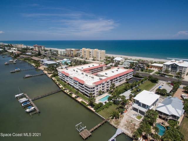 3360 S Atlantic Avenue #201, Cocoa Beach, FL 32931 (MLS #918975) :: Blue Marlin Real Estate