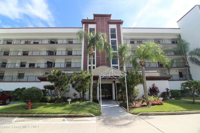 3613 S Banana River Boulevard D404, Cocoa Beach, FL 32931 (MLS #918979) :: Blue Marlin Real Estate