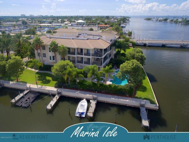 4 Marina Isles Boulevard #301, Indian Harbour Beach, FL 32937 (MLS #765982) :: Pamela Myers Realty