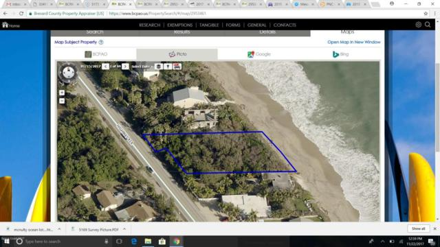 5169 Highway A1a, Melbourne Beach, FL 32951 (MLS #798953) :: Better Homes and Gardens Real Estate Star