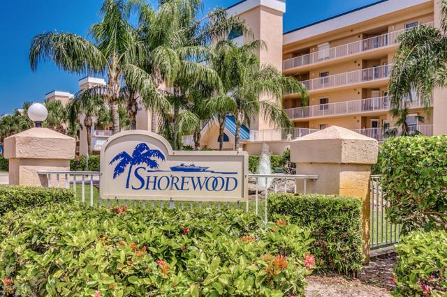 609 Shorewood Drive #207, Cape Canaveral, FL 32920 (MLS #804362) :: Pamela Myers Realty