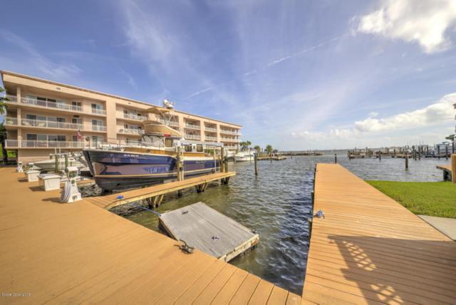 580 S Banana River Drive #104, Merritt Island, FL 32952 (MLS #806652) :: Premium Properties Real Estate Services