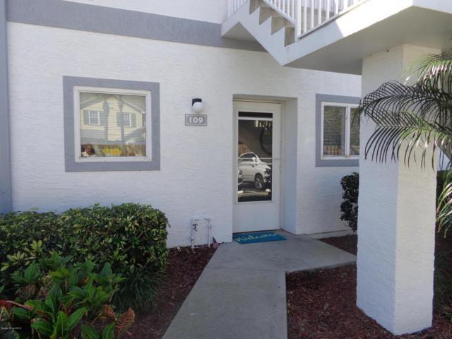 109 Ocean Park Lane #291, Cape Canaveral, FL 32920 (MLS #807008) :: Premium Properties Real Estate Services