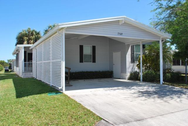 7509 Niantic Avenue #10, Micco, FL 32976 (MLS #807665) :: Pamela Myers Realty