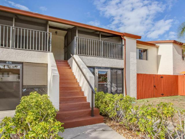 612 Ridge Club Drive #92, Melbourne, FL 32934 (MLS #810272) :: Pamela Myers Realty