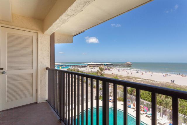 5300 Ocean Beach Boulevard #408, Cocoa Beach, FL 32931 (MLS #811641) :: Pamela Myers Realty