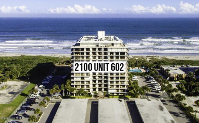 2100 N Atlantic Avenue #602, Cocoa Beach, FL 32931 (MLS #821588) :: Better Homes and Gardens Real Estate Star