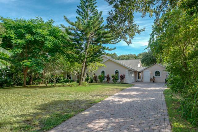 113 Seagrape Road, Melbourne Beach, FL 32951 (MLS #824937) :: Premium Properties Real Estate Services