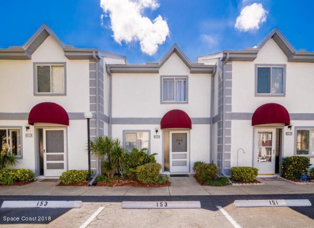 153 Seaport Boulevard #25, Cape Canaveral, FL 32920 (MLS #827114) :: Platinum Group / Keller Williams Realty